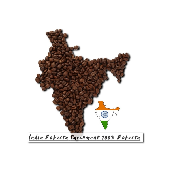 India Robusta Parchment 100% Robusta