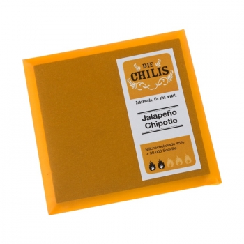 Die Chilis - Jalapeno Chipotle 30.000 Scoville Milchschokolade